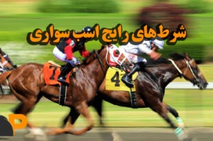 شرطهای رایج اسب سواری